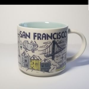 STARBUCKS 2018 SAN FRANCISCO COFFEE TEA MUG CUP